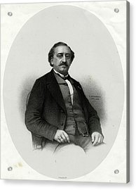 Friedrich Von Flotow  German Musician Acrylic Print by Mary Evans Picture Library