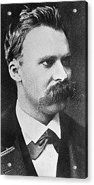 Friedrich Wilhelm Nietzsche Acrylic Print by French Photographer