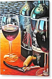 Friends From Napa Acrylic Print by Tim Eickmeier