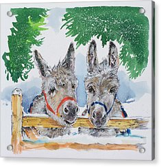 Friends In The Field Acrylic Print