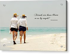 Acrylic Print featuring the photograph Friends by Rosemary Aubut