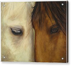 Friends Acrylic Print by Suzie Richey