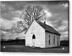 Acrylic Print featuring the photograph Friendship Church by Wendell Thompson