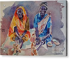 Friendship  Acrylic Print by Mohamed Fadul
