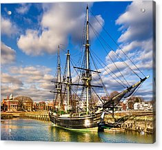 Friendship Of Salem At Harbor Acrylic Print