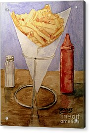Fries For Lunch Acrylic Print