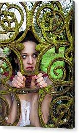 Frightened  Acrylic Print by Semmick Photo