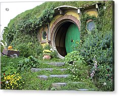 Frodo Baggins Lives Here Acrylic Print