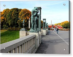Frogner Park Acrylic Print