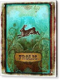Frolic Acrylic Print