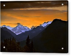Acrylic Print featuring the photograph From A Distance by Dyle   Warren
