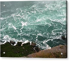 From Above Acrylic Print by Dervent Wiltshire