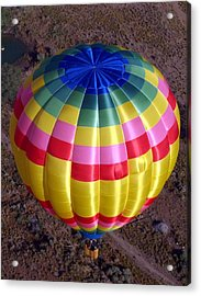 From Above Acrylic Print by Mary Rogers