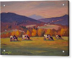 From Airyhill Acrylic Print by Len Stomski