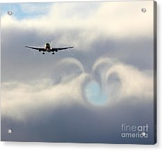From Boeing With Love Acrylic Print by Alex Esguerra