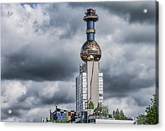 From Garbarge To Energy Acrylic Print