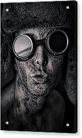 From Here With Love. Acrylic Print by Eugene Volkov