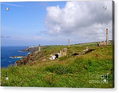 From Levant To Pendeen Cornwall Acrylic Print by Terri Waters
