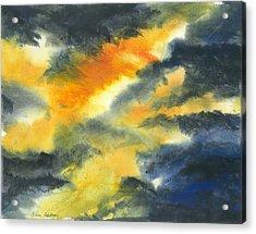 From Light Into Dark Acrylic Print by Karen  Condron