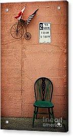 From Nine To Five Acrylic Print by Elena Nosyreva