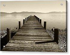 From North Lake Tahoe Acrylic Print by John Debar