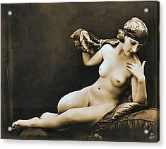 From Risque Postcard Collection 4 Acrylic Print