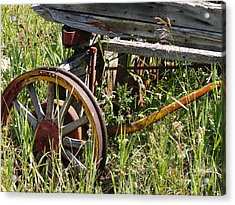 From Rust To Grass Acrylic Print