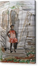 From Slavery To Penury Acrylic Print by Esther Newman-Cohen