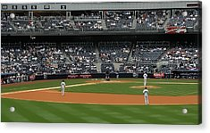 From The Bleacher Creatures Acrylic Print by John Delong