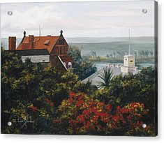 From The Holiday Inn - Key West Acrylic Print by Lucie Bilodeau