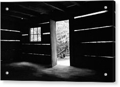 From The Inside Acrylic Print by Lawrence Golla