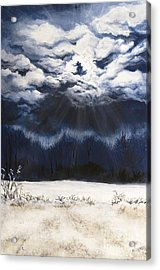 From The Midnight Sky Acrylic Print