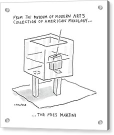 From The Museum Of Modern Art's Collection Acrylic Print