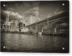 From The River Bank Acrylic Print