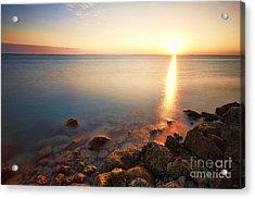 From The Rocks Sunset  Acrylic Print by Eyzen M Kim