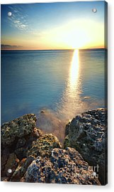 From The Sea Rocks Acrylic Print by Eyzen M Kim