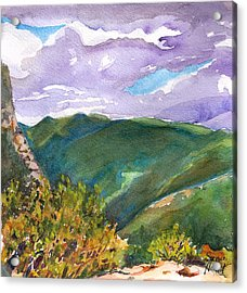 From Tuckerman's Ravine Acrylic Print by Susan Herbst
