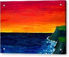 From Where The Sun Meets The Sea Acrylic Print
