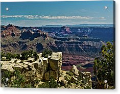 Acrylic Print featuring the photograph From Yaki Point 2 Grand Canyon by Bob and Nadine Johnston