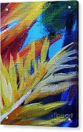 Fronds Acrylic Print by John Clark