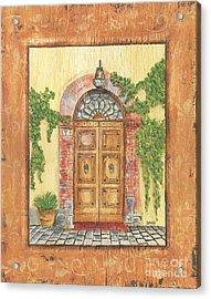 Front Door 2 Acrylic Print by Debbie DeWitt
