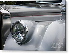 Acrylic Print featuring the photograph Front Of A Rolls Royce by Gunter Nezhoda