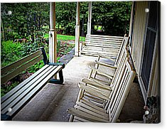 Front Porch Acrylic Print by Beth Vincent