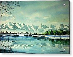 Front Range At Boulder Colorado Acrylic Print