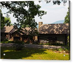 Front View Of The Cabin Acrylic Print by Robert Margetts