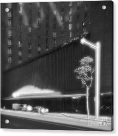 Frontage Of Hotel In Sydney Acrylic Print by Colin and Linda McKie