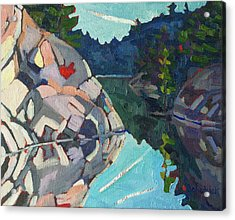 Frood Quartzite Acrylic Print by Phil Chadwick