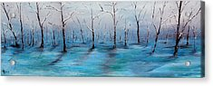 Frost Like Ashes Acrylic Print by Meaghan Troup