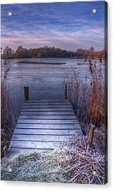 Frosty Jetty Acrylic Print