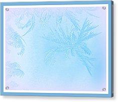Frosty Acrylic Print